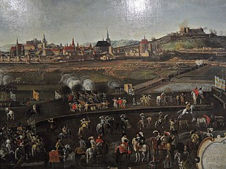 Brno - Unsuccessful Swedish siege in 1645.