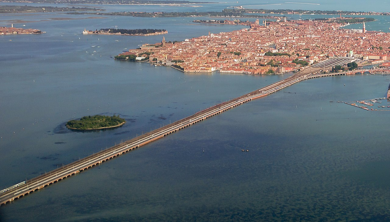 Ponte della Liberà a Venezia