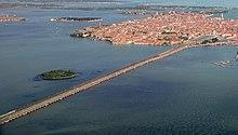 Il ponte della Libertà, tratto terminale della SS 11