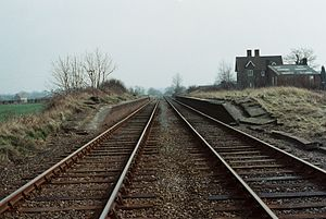 Interchange station - The remains of the remote Verney Junction interchange station