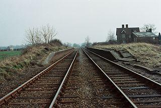 Verney Junction railway station former railway station in Buckinghamshire, England