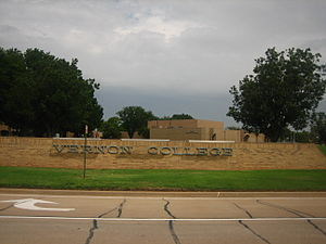 Vernon, Texas - Vernon College is a community college in Vernon