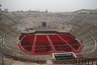 Verona Arena - Verona Arena interior