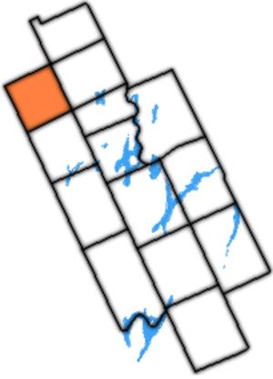 Dalton Township, Ontario - Dalton Township within former Victoria County