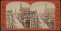 View down Broadway from post office, from Robert N. Dennis collection of stereoscopic views.png