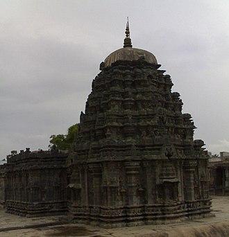Annigeri - Amruteshwara Temple in Annigeri