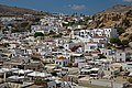 View of Lindos from the Acropolis. Rhodes, Greece.jpg