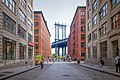 View of Manhattan Bridge from Washington Street in DUMBO, Brooklyn.jpg