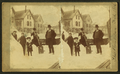 View of a family in a residential neighborhood in the winter after a major snowstorm, from Robert N. Dennis collection of stereoscopic views.png