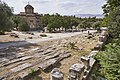 View of the Ancient Agora of Athens from Polygnotou Street on September 7, 2021.jpg