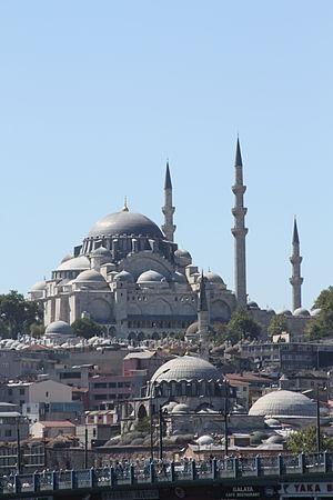 Islam in Turkey - Süleymaniye Mosque, Istanbul.