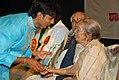 Vijaykumar Patil and Padmavibhushan Dr Gangubai Hangal.jpg