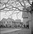 Village Gardens Feed Schoolchildren- Food Production at Knighton-on-teme, Worcestershire, England, UK, 1943 D17510.jpg