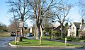Village centre and sign - Newton, Cambridgeshire.jpg