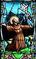 Villeréal - Eglise - Vitrail de la vie de saint François et du saint scapulaire -1.jpg