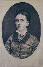 Vincent van Gogh - Portrait possibly of Willemina Jacoba ('Willemien') van Gogh - F849 JH11.jpg