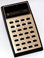 Vintage Texas Instruments Electronic Pocket Calculator, Model TI-2550 III, Rechargeable Battery Pack, Made in USA, Circa 1976 (38437666271).jpg