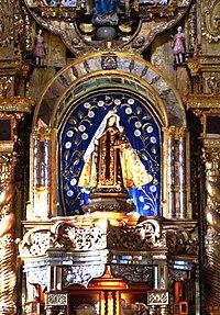 Virgen del Carmen by Maria Estefania Davalos - Quito School.jpg