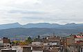 Vista de la serra Calderona des de la torre de la Presó, Sogorb.JPG