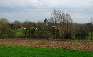 Galmaarden - Image: Vollezele (Belgium) overview