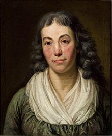 Marie Christine Ernestine Voß, geb. Boie, Gemälde von Georg Friedrich Adolph Schöner, 1797, Gleimhaus Halberstadt (Quelle: Wikimedia)