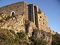 Vue sur l'angle nord Ouest du château de Termes.jpg