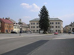 Center of Vysoké nad Jizerou