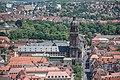 Würzburg, Neubaukirche, Ansicht von der Festung Marienberg 20170624 001.jpg
