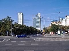 Widok na ul. Świętokrzyską