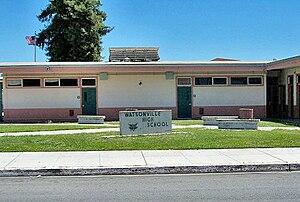 Watsonville High School - Watsonville High School on East Beach Street.