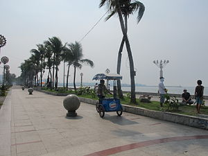 Manila Bay - The Baywalk.