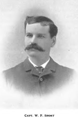 Lytton (sternwheeler) - W.P. Short, an early captain of Lytton