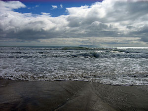 English: Waihi Beach, New Zealand