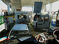 Waiting to get off the ferry at Cowes (6235295267).jpg