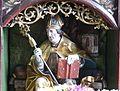 Waldburg Pfarrkirche - Wolfgangsaltar 2a Predella Wolfgang.jpg
