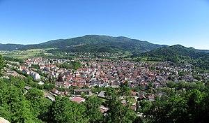 Waldkirch - Image: Waldkirch Panorama