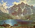 Walery Eljasz Radzikowski - Morskie Oko 1881.jpg