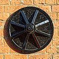 Wall anchor on The Maltings, Southmill Road, Bishop's Stortford, Hertfordshire, England.jpg
