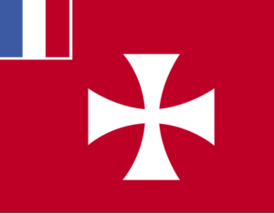 Flag of Wallis and Futuna, a French overseas c...