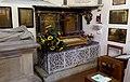 Walsingham memorials in the Scadbury Chapel.JPG