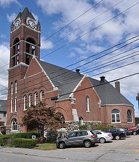 Beth Eden Baptist Church church building in Waltham, Massachusetts