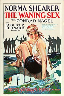 <i>The Waning Sex</i> 1926 film by Robert Zigler Leonard