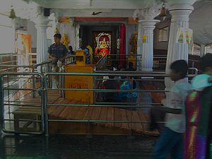 Wargal Saraswati Temple - Main Deity