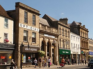 Warminster - Image: Warminster some town centre shops (geograph 2025490)