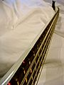Warwick Thumb 5 Custom White - LED side position markers on Neck.jpg
