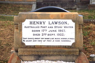 Waverley Cemetery - Grave of Henry Lawson