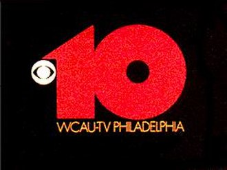 "WCAU - WCAU-TV ident from 1973 to 1995. The ""10"" survived with only minor changes until 1995."