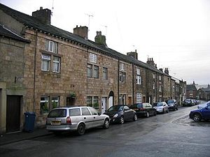 Ribchester - Weavers' cottages on Church Street.