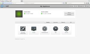 OpenSUSE - WebYaST