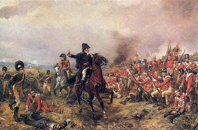 Robert Alexander Hillingford, Wellington a Waterloo.
